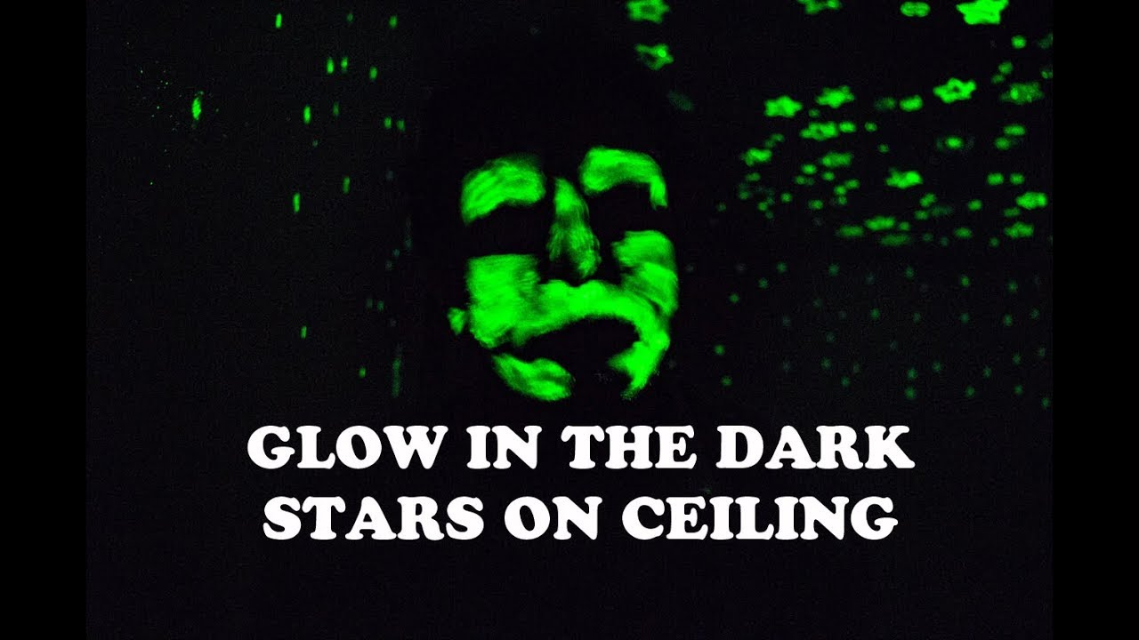 Painting Glow In The Dark Stars On Ceiling With Rust Oleum