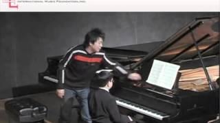 Lang Lang Masterclass at Carnegie Mellon University (2008) - Rishi Mirchandani, piano