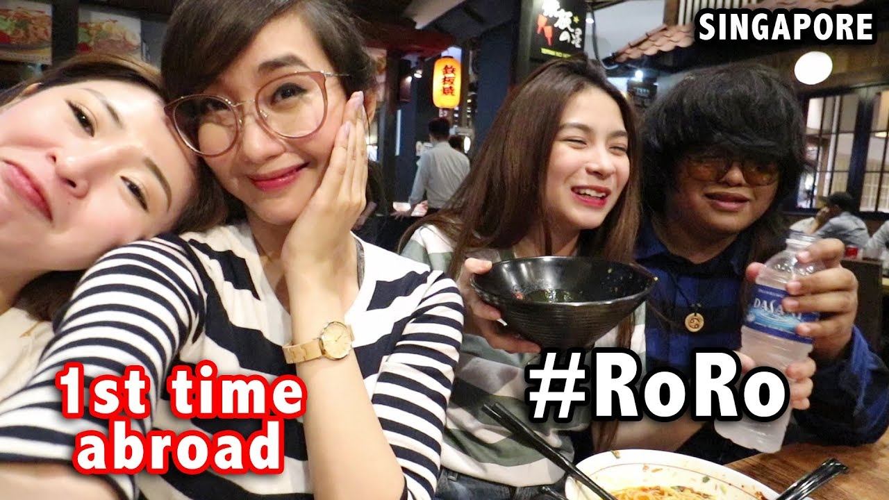 RORO GOES TO SINGAPORE!! (SPICY RAMEN CHALLENGE)