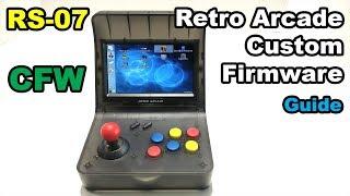 RS-07 Retro Arcade Custom Firmware CFW