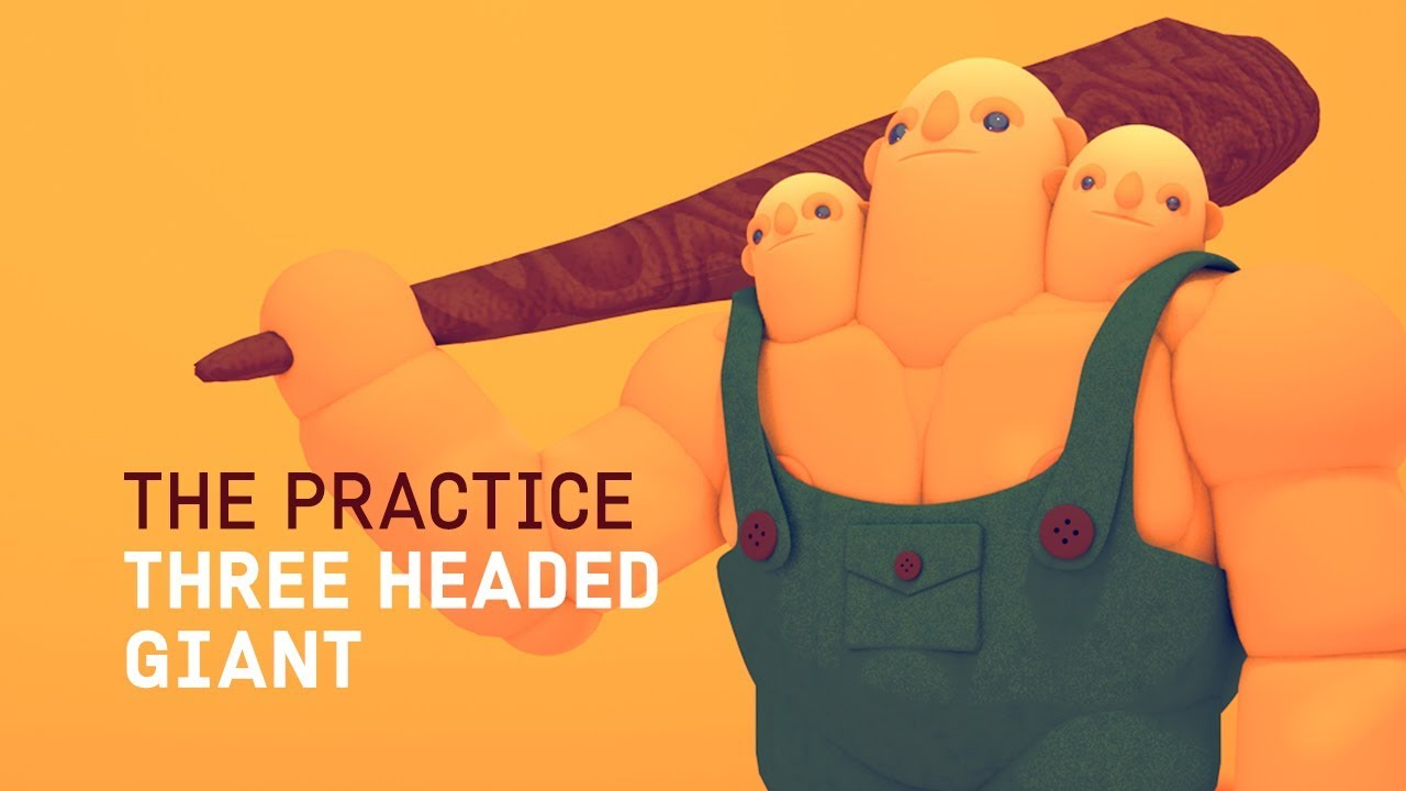 Three Headed Giant Character Design in Cinema 4d // The Practice 92