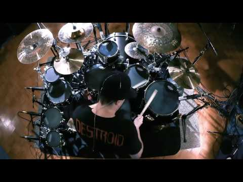 KJ Sawka - The Time Has Come - Drum play through