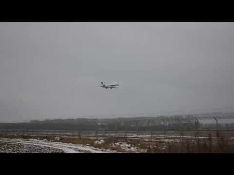 Embraer erj-145 China southern airlines. Landing in Airport Ufa