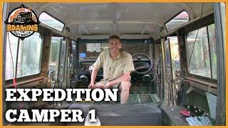 Land Rover Defender Expedition Camper Upgrade Part 1