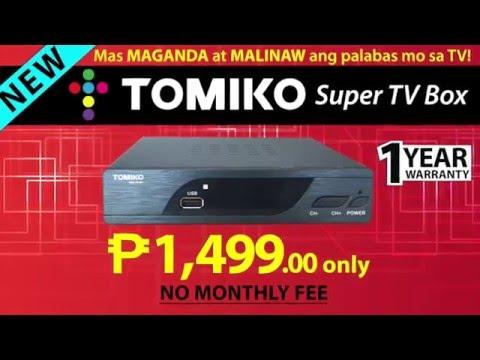 Tomiko Super TV Box Unboxing