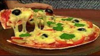 Рецепт очень вкусной и сытной пиццы