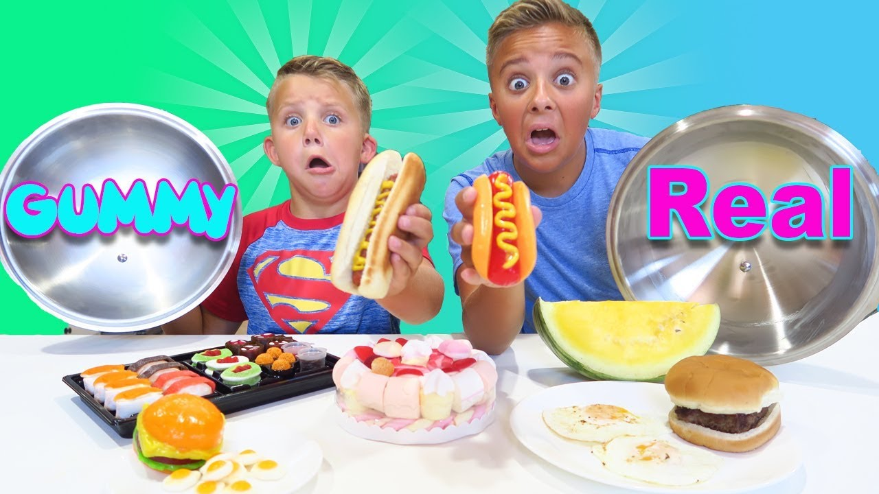 The Candy Food Vs Real Food Switch Up Game Youtube