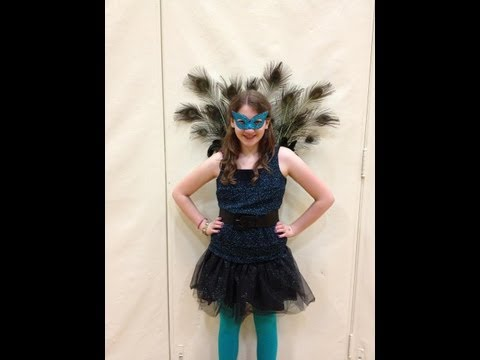 How To Make A Peacock Coustume DIY