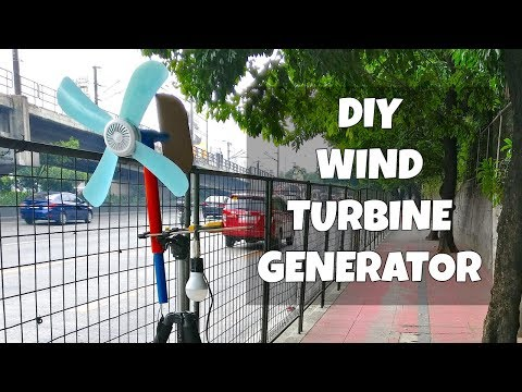 DIY Wind Turbine Power Generator
