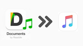How to Transfer Downloaded Music from Documents 5 App to iPhone Music Library