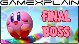 Kirby and the Rainbow Curse - Final Boss Fight & Ending (1080p60fps) SPOILERS