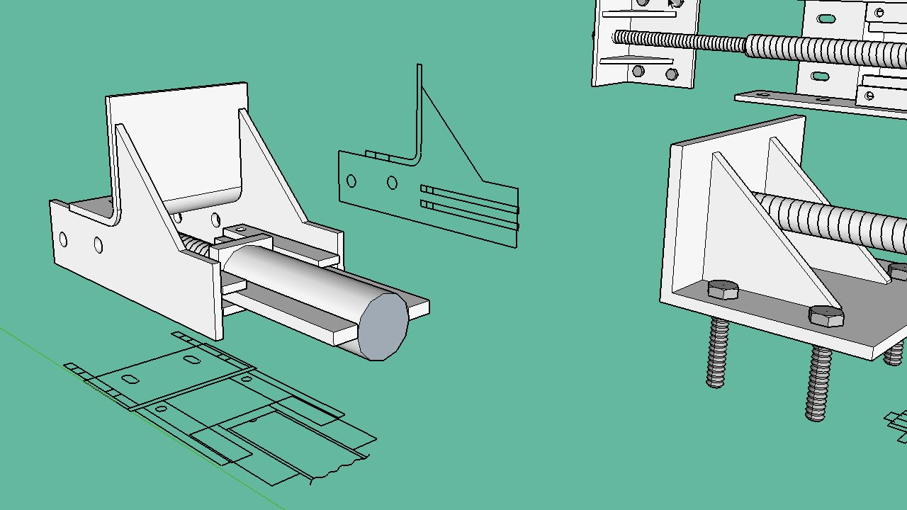Turn 2D CAD into 3D using SketchUp - YouTube