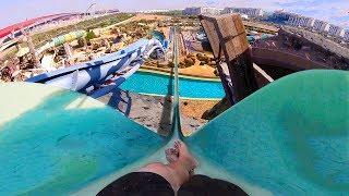 Os 3 Escorregadores Mais Incríveis do Yas Waterworld Abu Dhabi