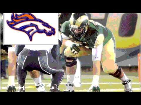 2015 NFL Draft #59 Ty Sambrailo Denver Broncos