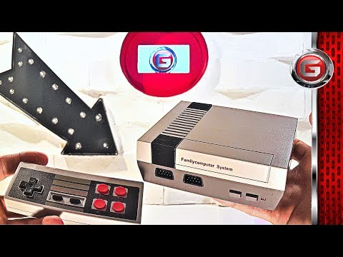 Mini Nes Retro 620 Video Game Console