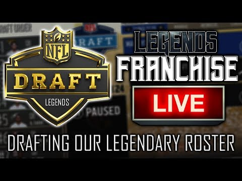 TASY DRAFT WITH LEGENDS ROSTER LIVE! HELP ME DRAFT OUR TEAM