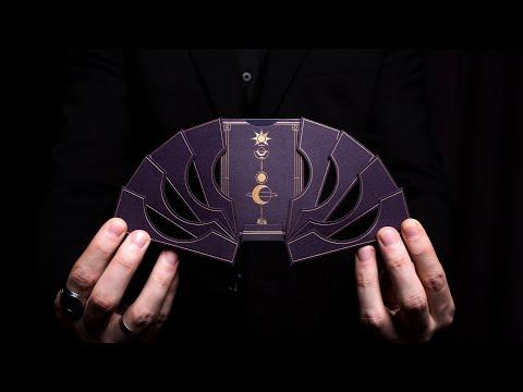 НЕВЕРОЯТНО КРУТАЯ КОЛОДА КАРТ! VIOLET LUNA MOON Playing Cards | ОБЗОР
