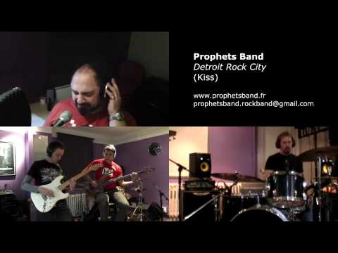 Detroit rock city (Kiss) - band cover by Prophet's Band
