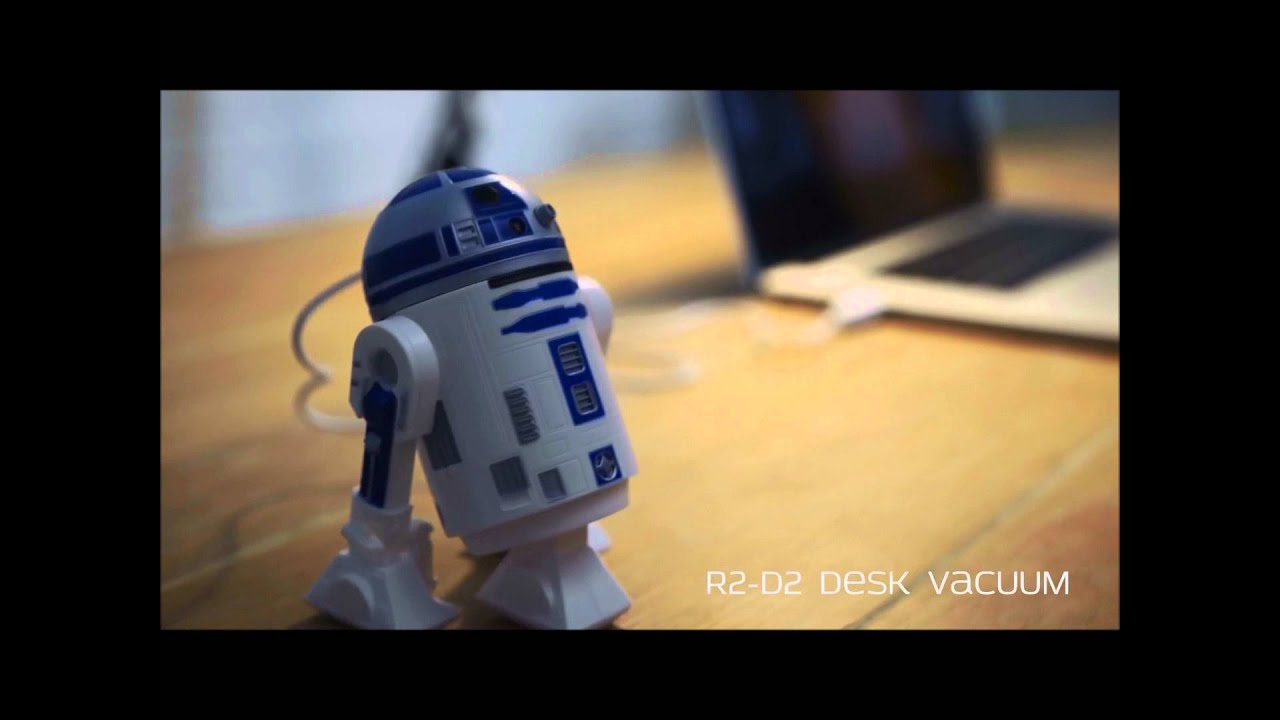 aspirateur de bureau r2d2 sur youtube. Black Bedroom Furniture Sets. Home Design Ideas