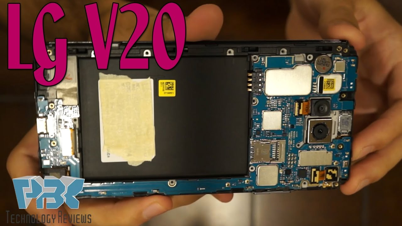 LG V20 Disassembly Teardown Repair Guide