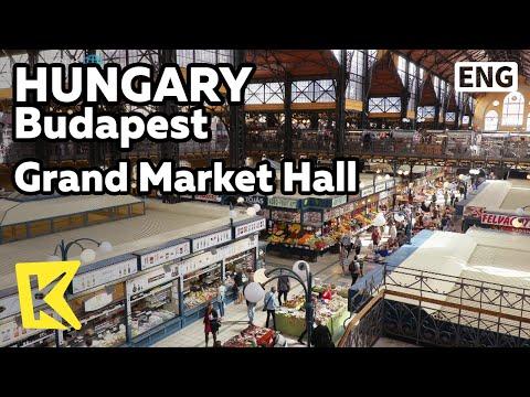 【K】Hungary Travel-Budapest[헝가리 여행-부다페스트]중앙시장의 화려함/Grand Market Hall/Paprika/Market