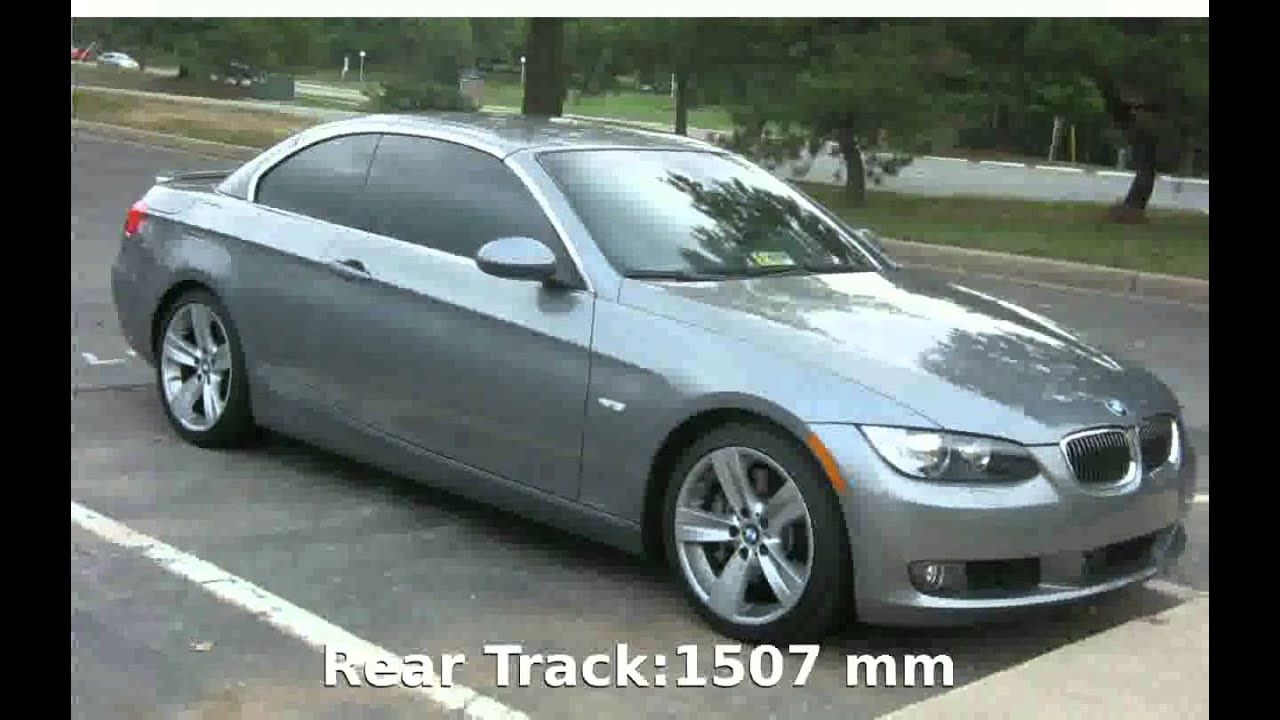 2007 bmw 335i cabrio e93 specs release date price acceleration equipment features youtube. Black Bedroom Furniture Sets. Home Design Ideas