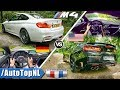 BMW M4 Competition vs Chevrolet Camaro SS | ACCELERATION TOP SPEED Exhaust SOUND & POV by AutoTopNL