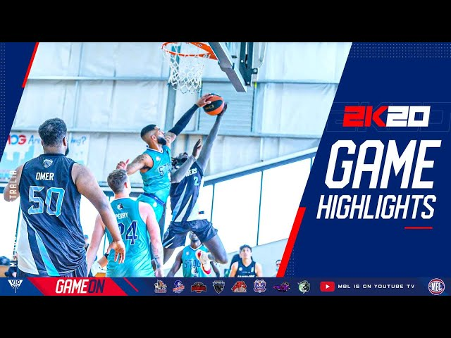 Feb 7, 2021 MBL2K20 Calvin Enge basketball highlights North Melbourne Stags