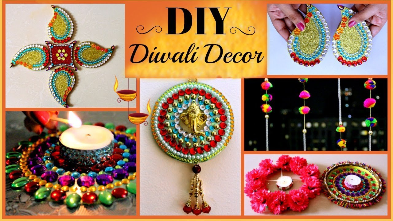 5 DIY- Diwali Decoration Ideas (Easy And Creative) Best