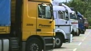 видео Сопровождение при транспортировке негабаритных грузов