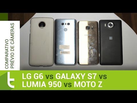 LG G6 vs Galaxy S7, Lumia 950 e Moto Z | Comparativo prévio de câmeras TudoCelular