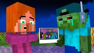 Zombie vs Villager Life 3 - Craftronix Minecraft Animation
