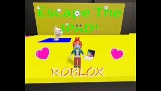 Roblox Escape IPAD, Ich laufe vor einem IPAD-Monster weg!! | Roblox Deutsch|