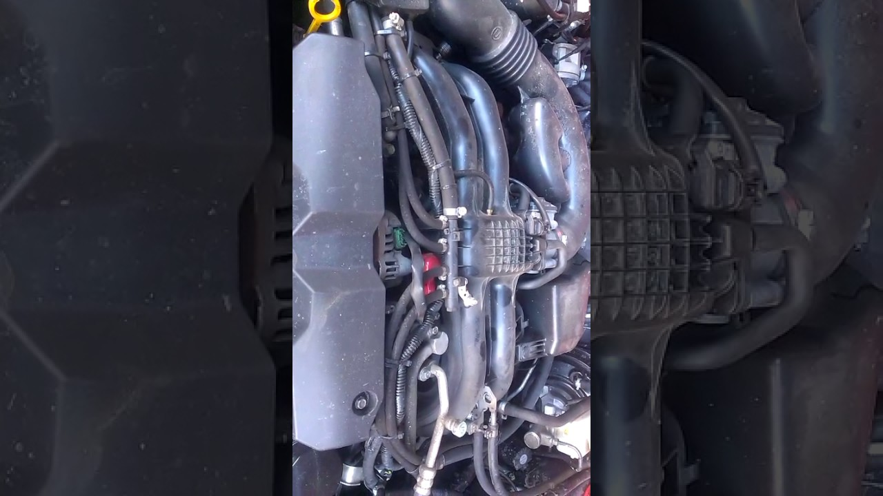 Tapping, knocking sound while idling on Subaru Forester 2011 FB25