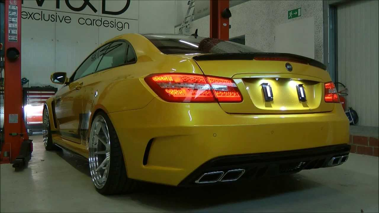 Mercedes E Coupe 500 C207 Pd850 Black Edition Widebody