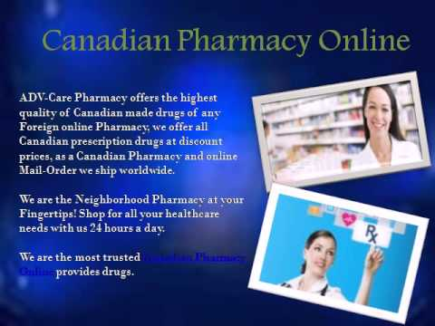 Canadian Mailorder Online Pharmacy