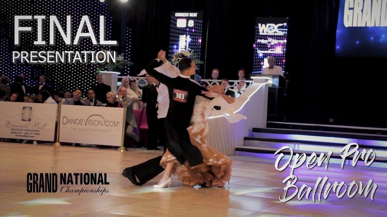 Open Professional Ballroom I Final Presentation I Grand National 2019