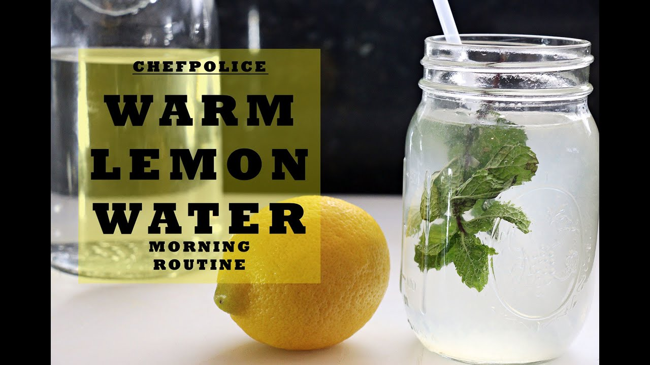 Morning Routine | How to make Lukewarm Lemon Water for Health Benefits