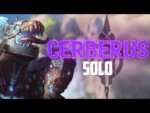 Cerberus Solo: WHY DOES CERBERUS WORK AS A DAMAGE DEALER?! - Incon - Smite