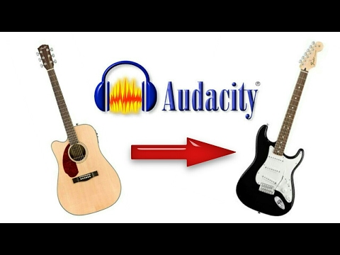 how to add distortion to acoustic guitar using audacity youtube. Black Bedroom Furniture Sets. Home Design Ideas