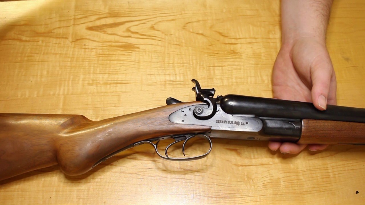 Cimarron S 1878 Double Barrel 12 Gauge Youtube