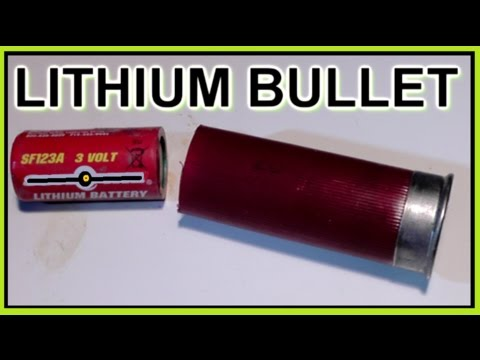Lithium Battery Shotgun Bullet  ☢