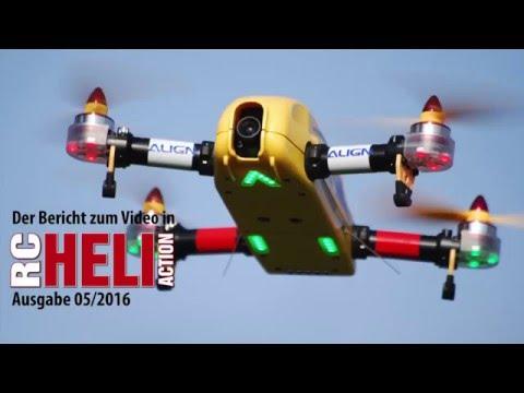 RC-Heli-Action: Align FPV-Race-Kopter
