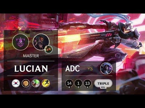Lucian ADC vs Kai'Sa - KR Master Patch 9.19