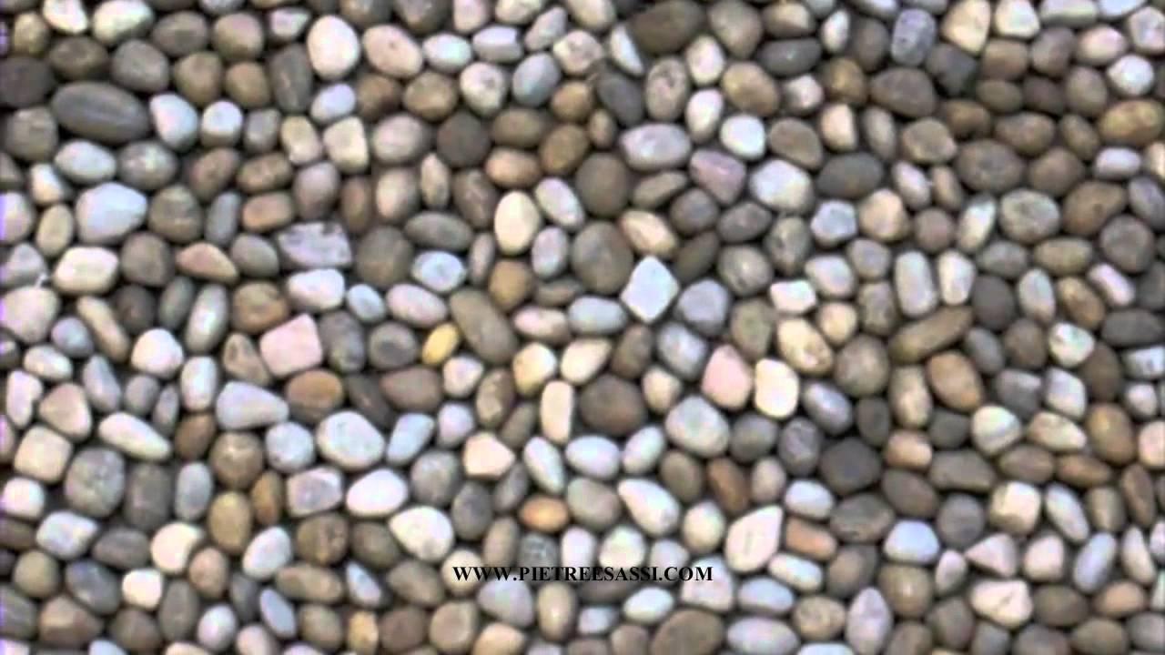 Pietre e sassi : pavimento cortile esterno in ciottoli youtube