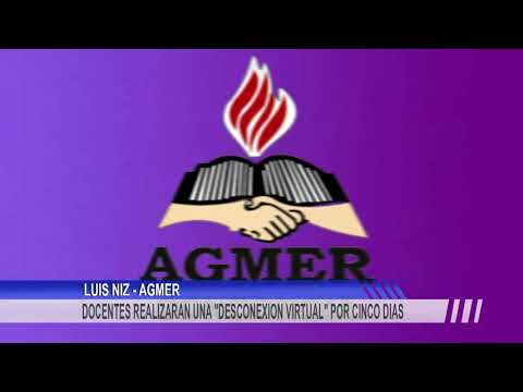 Agmer definió un plan de acción con cinco días de desconexión virtual.