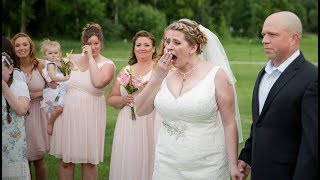 Bride Leaves Empty Seat For Her Dead Son, Can't Hold Back Tears When She Sees Who Shows Up