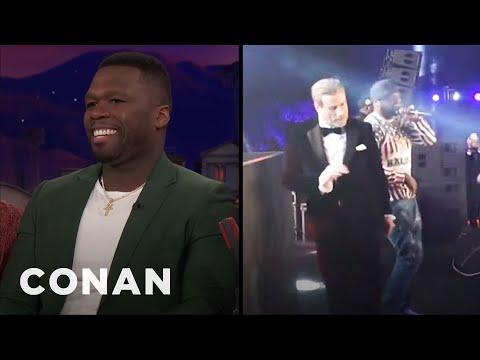 Curtis '50 Cent' Jackson On John Travolta's Dance Moves  - CONAN on TBS