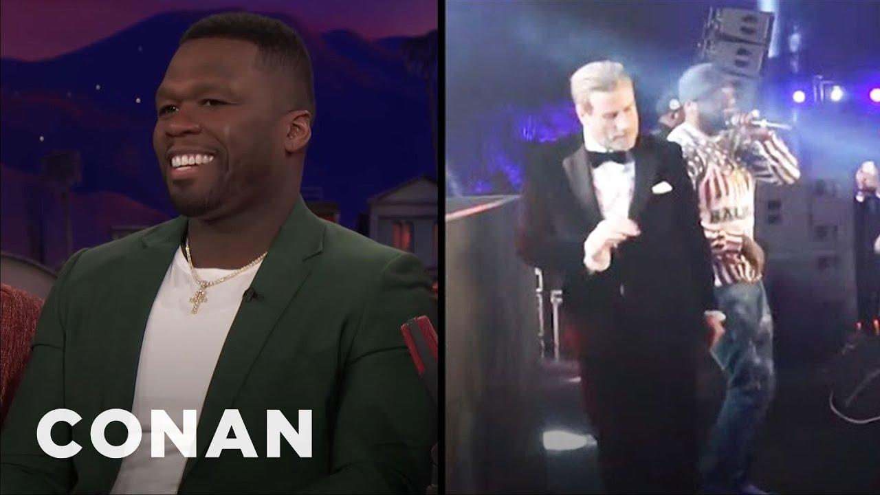 "Download Curtis ""50 Cent"" Jackson On John Travolta's Dance Moves | CONAN on TBS"