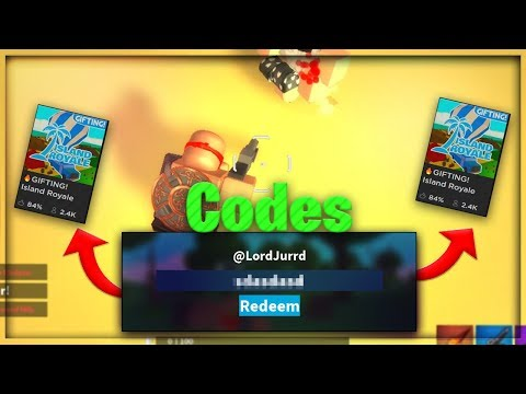 All 2 New Island Royale Codes Roblox Victory Royale Youtube